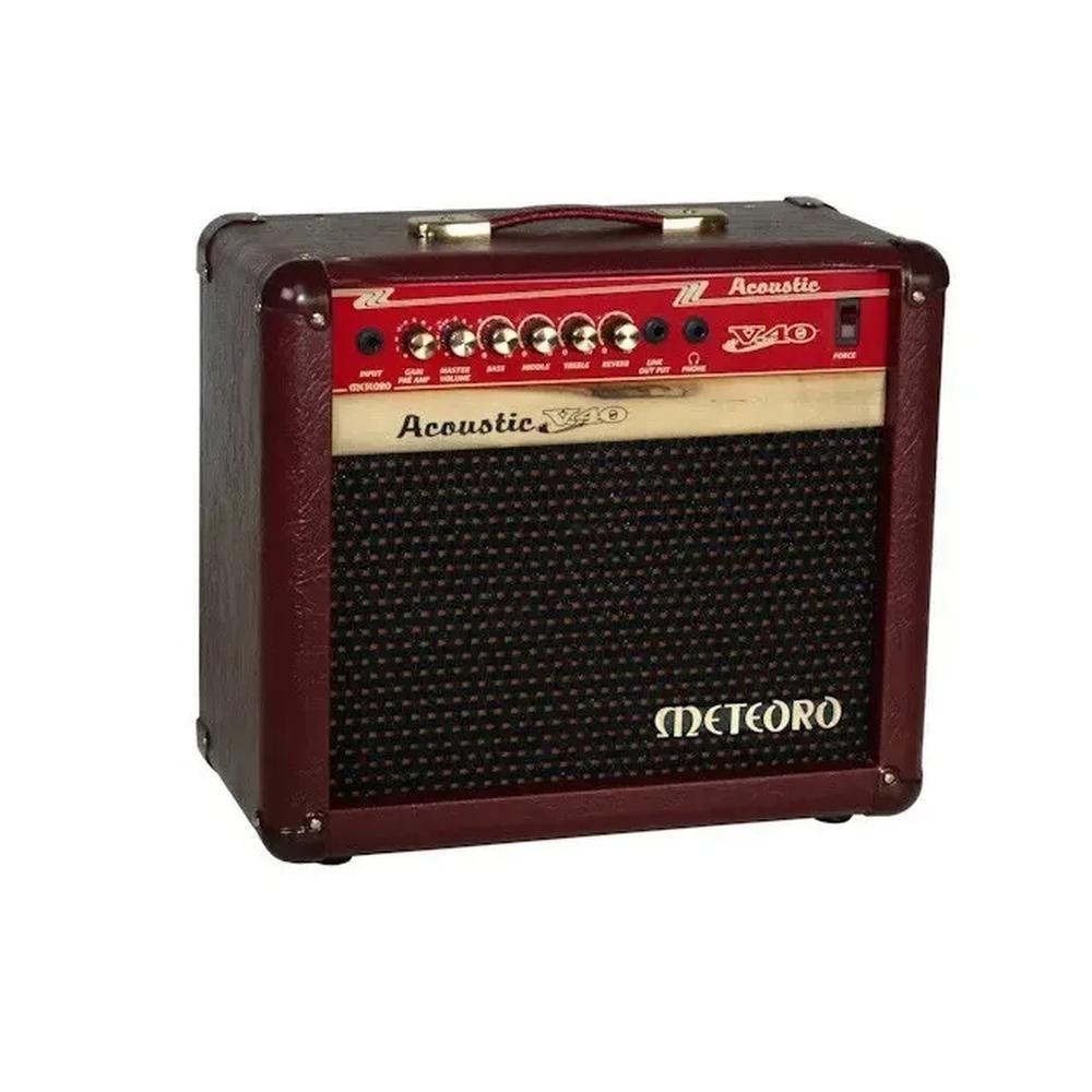 Amplificador para Violão Meteoro V40 acoustic 40 Wrms