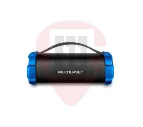 Caixa de Som Bazooka Multilaser - 50W BT/AUX/SD/USB/FM SP350