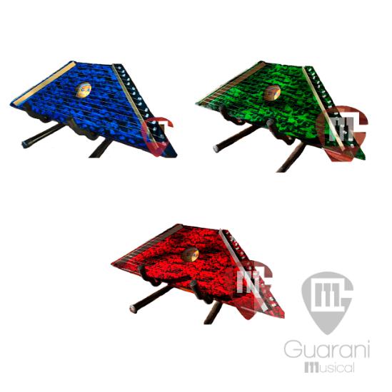 Cítara - Mini Harpa com Partituras