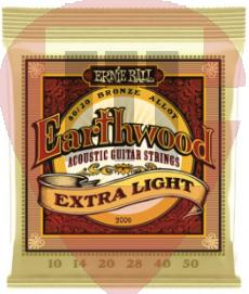 Encordoamento Ernie Ball EarthWood 010 2006