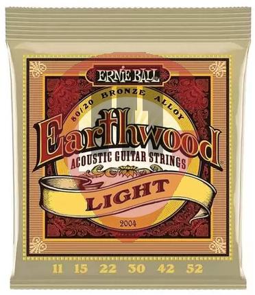 Encordoamento Ernie Ball EarthWood 011 2004