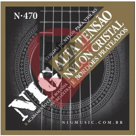 Encordoamento NIG N470 Nylon Cristal