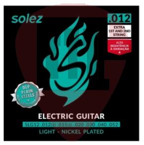 Encordoamento p/ Guitarra Solez 0.12