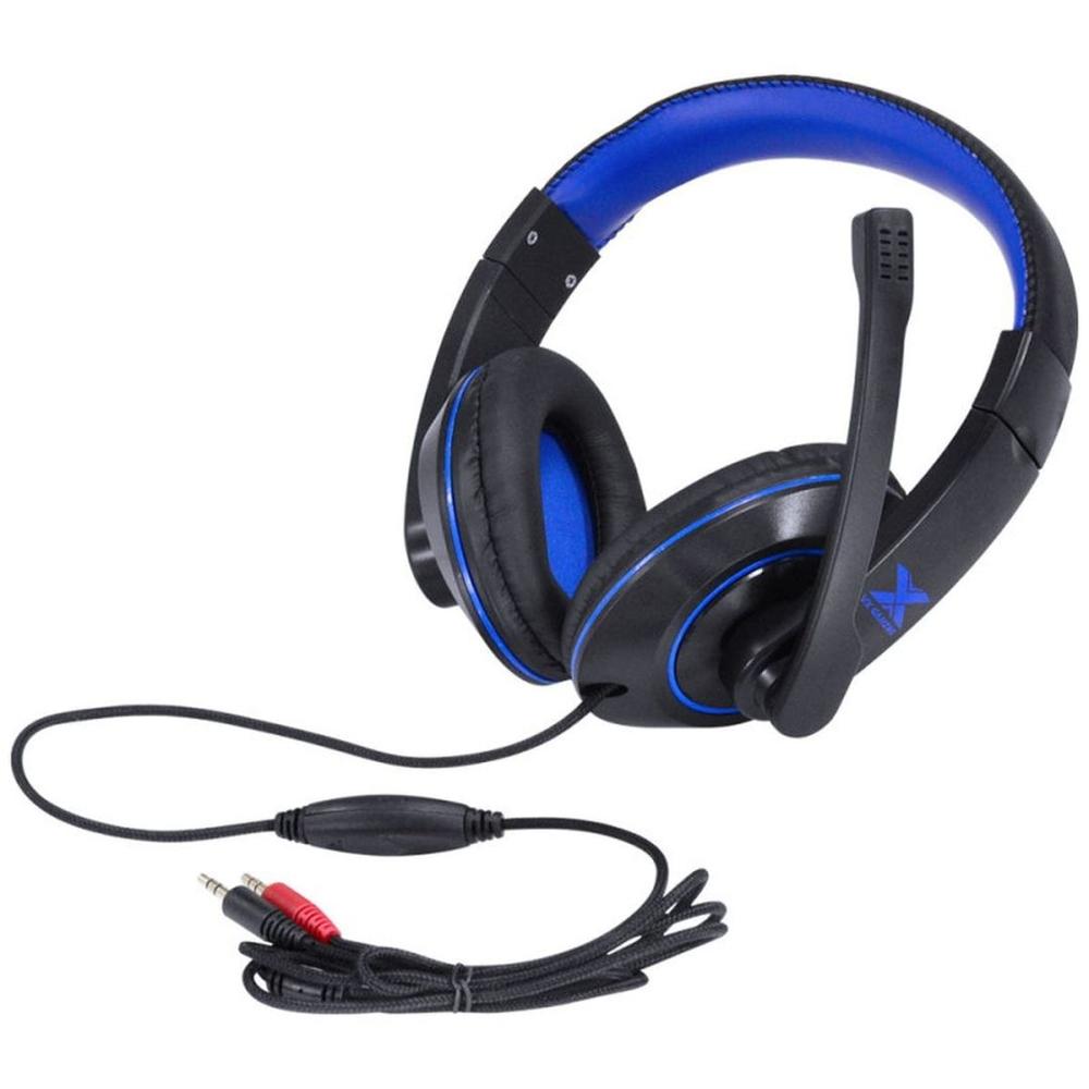 Fone Headset Gamer Vx Gaming v Blade II P2 Estéreo Com Microfone Retrátil e Ajuste de Haste