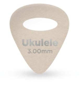 Palheta D'Addario Para Ukulele De Feltro 3.0mm (Pacote Com 4)  1FLT9-04