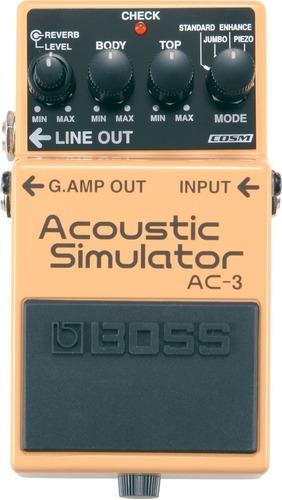 Pedal Boss Acoustic Simulator Ac-3