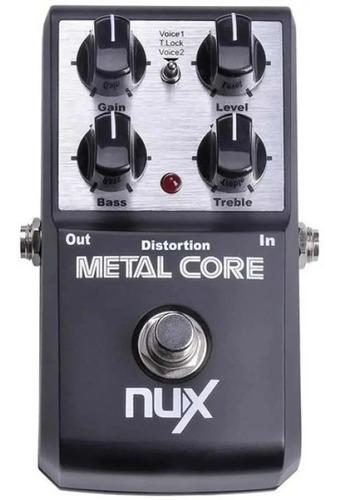 Pedaleira Nux Metal Core Distortion