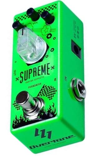 Pedal De Guitarra Overtone Supreme - Overdrive