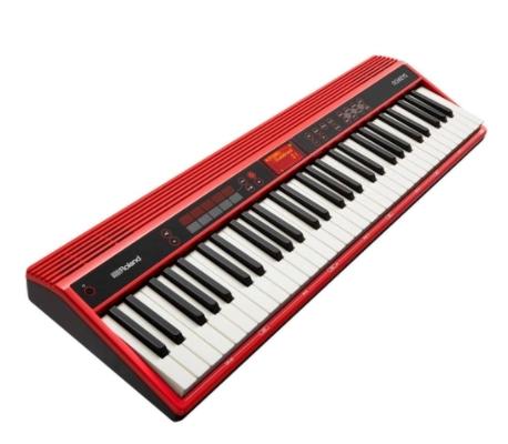 Piano Digital Roland Go-61K 61 Teclas Com Bluetooth