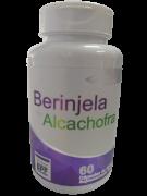 BERINJELA C/ ALCACHOFRA 500MG C/60 CAPS