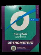 FIO ORTODONTIA ARCO INTRAORAL FLEXY NITI SUPERELAST ALX INFERIOR 0,18X0,25 C/10 UND