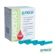 Lancetas para lancetador 28g c/100 unidades - G-Tech