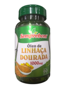 OLEO DE LINHACA DOURADA 1000MG C/90 CAPS
