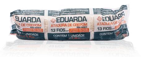Atadura  crepom eduarda soft pacote com 12 unidades - America Medical