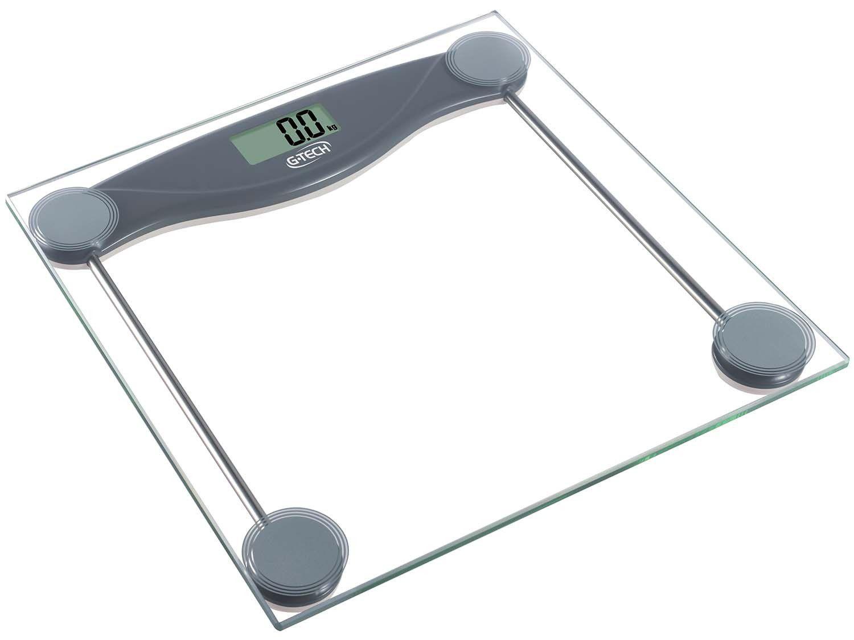 Balança Digital até 150kg Divisão 100g Glass 10 - G-Tech