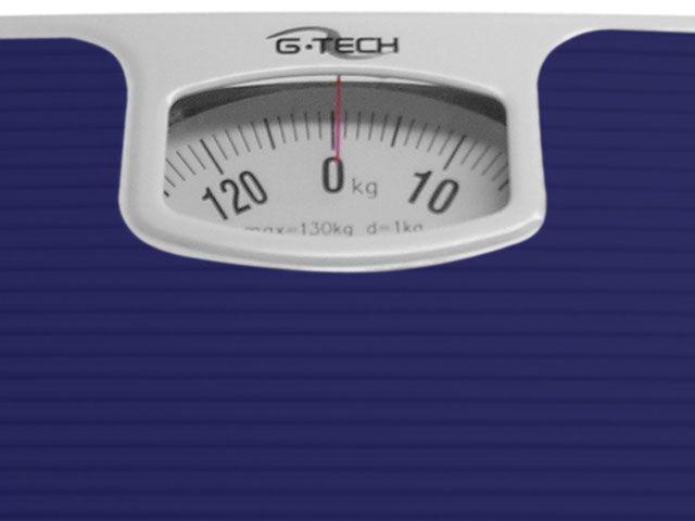 Balança Mecanica até 130kg Divisão 1kg  Anti-derrapante - G-Tech