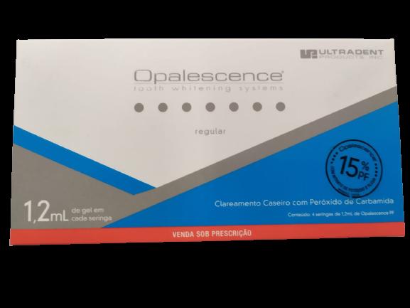 CLAREADOR OPALESCENCE REGULAR 15% PF GEL SERINGA 1,2ML C/4 UNID. - ULTRADENT