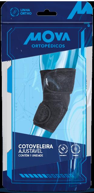 Cotoveleira Ajustável - Mova Tamanho Único Tecnologia Neo - Mova