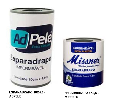 Esparadrapo Impermeável - COR BRANCO
