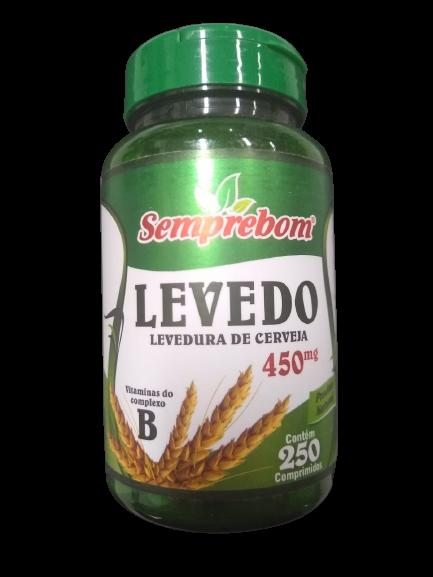 LEVEDURA DE CERVEJA (LEVEDO) 450MG C/250 COMP