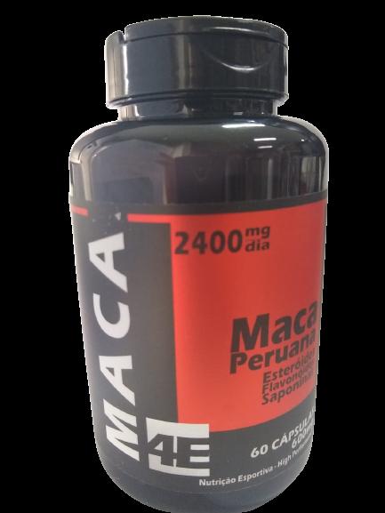 MACA PERUANA 600MG C/60 CAPS