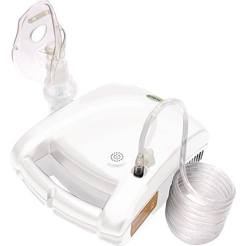 Nebulizador e Inalador Portátil NebComV Branco - G-Tech