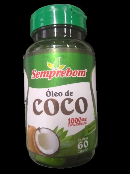 OLEO DE COCO 1000MG C/60 CAPS