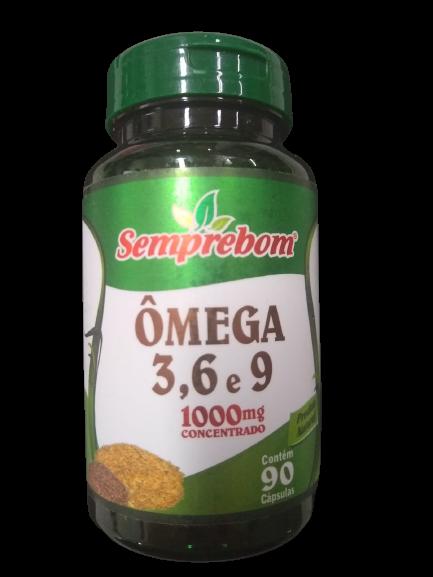 OMEGA 3 6 9 1000MG C/90 CAPS