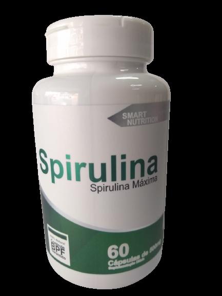 SPIRULINA MAXIMA 500MG C/60 CAPS