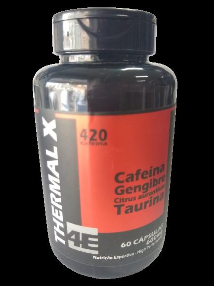 THERMAL X (CAFEINA+GENGIBRE+CITRUS AURANTIUM+TAURINA) 500MG C/60 CAPS