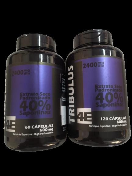 TRIBULUS TERRESTRIS (40% SAPONINAS) 600MG CAPS