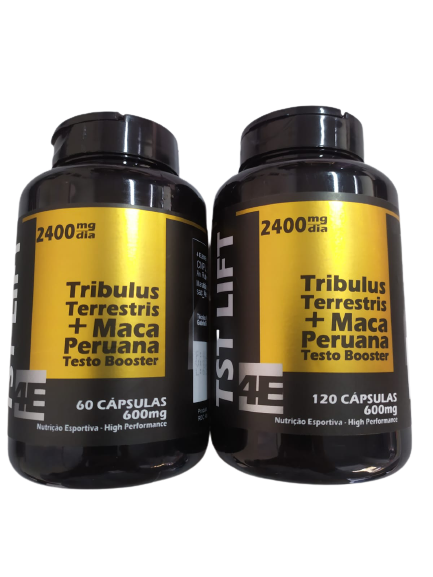 TST LIFT (TRIBULUS TERRESTRIS+MACA PERUANA) 600MG CAPS