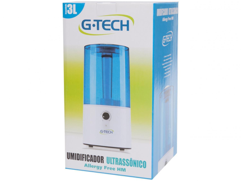 Umidificador de Ar Ultrassônico 3L Allergy Free HM - G-Tech