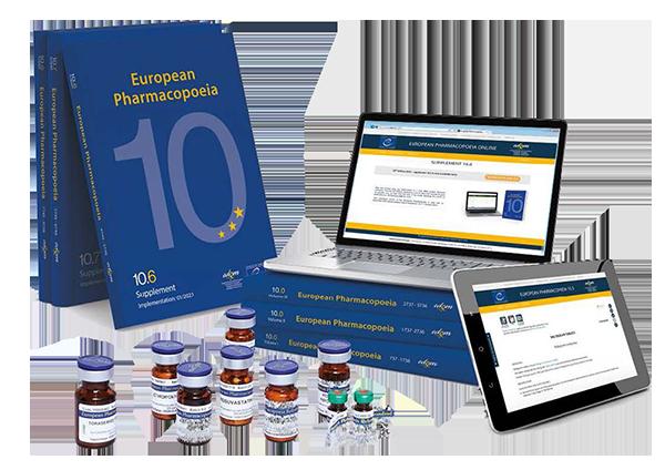 European Pharmacopoeia 10 2022 - Farmacopeia Europeia 10ª edição 2022 Suplementos 10.6-10.8 - Impresso