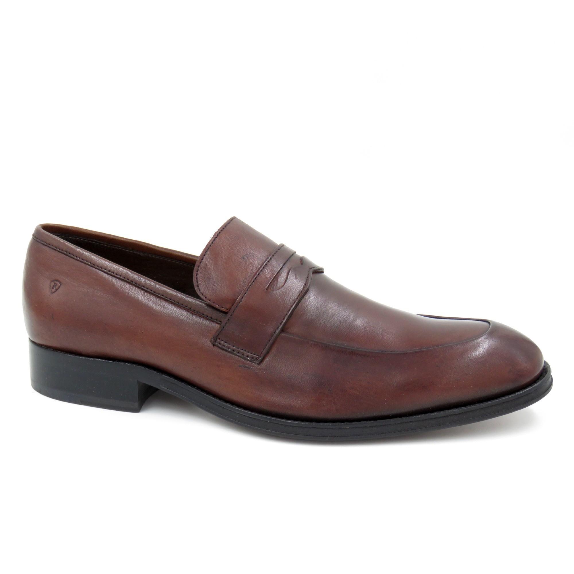 Sapato Calçar Sola Couro Cost Enluvada Front [334024]