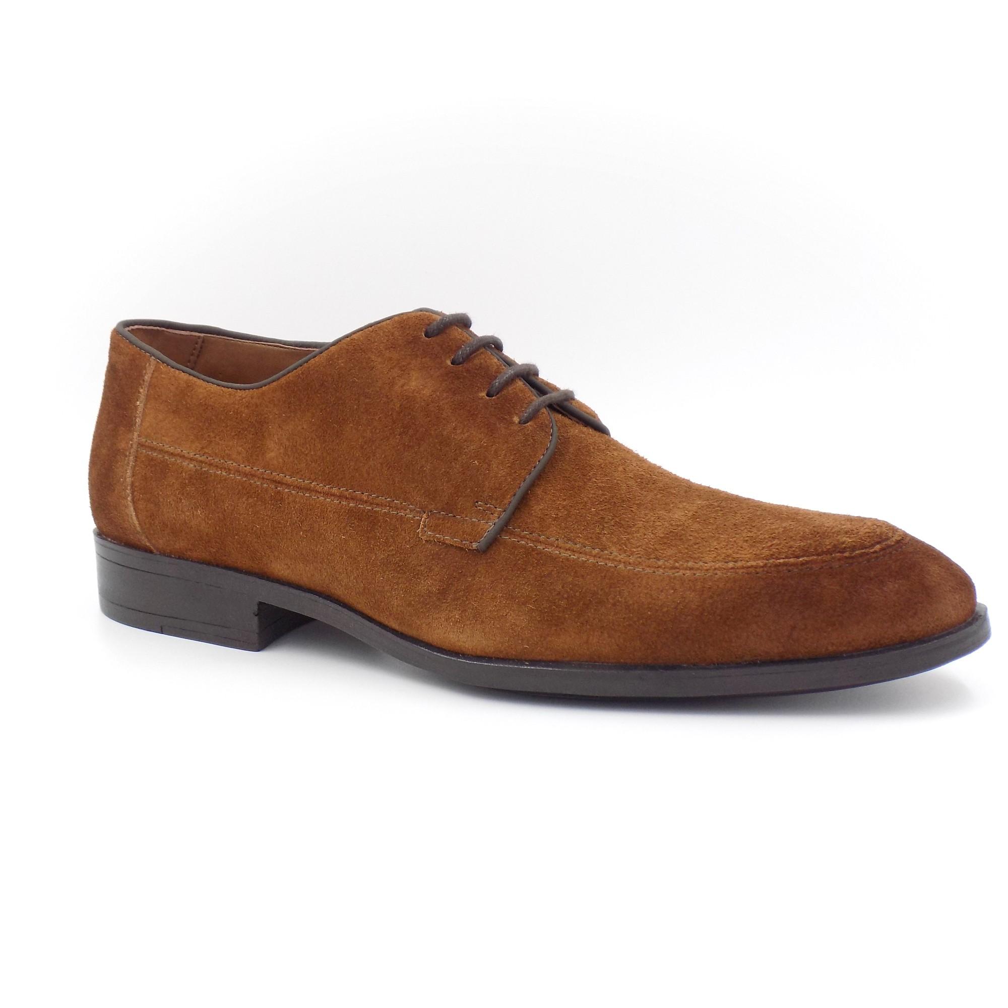 Sapato Casual Camurça Sola Borracha