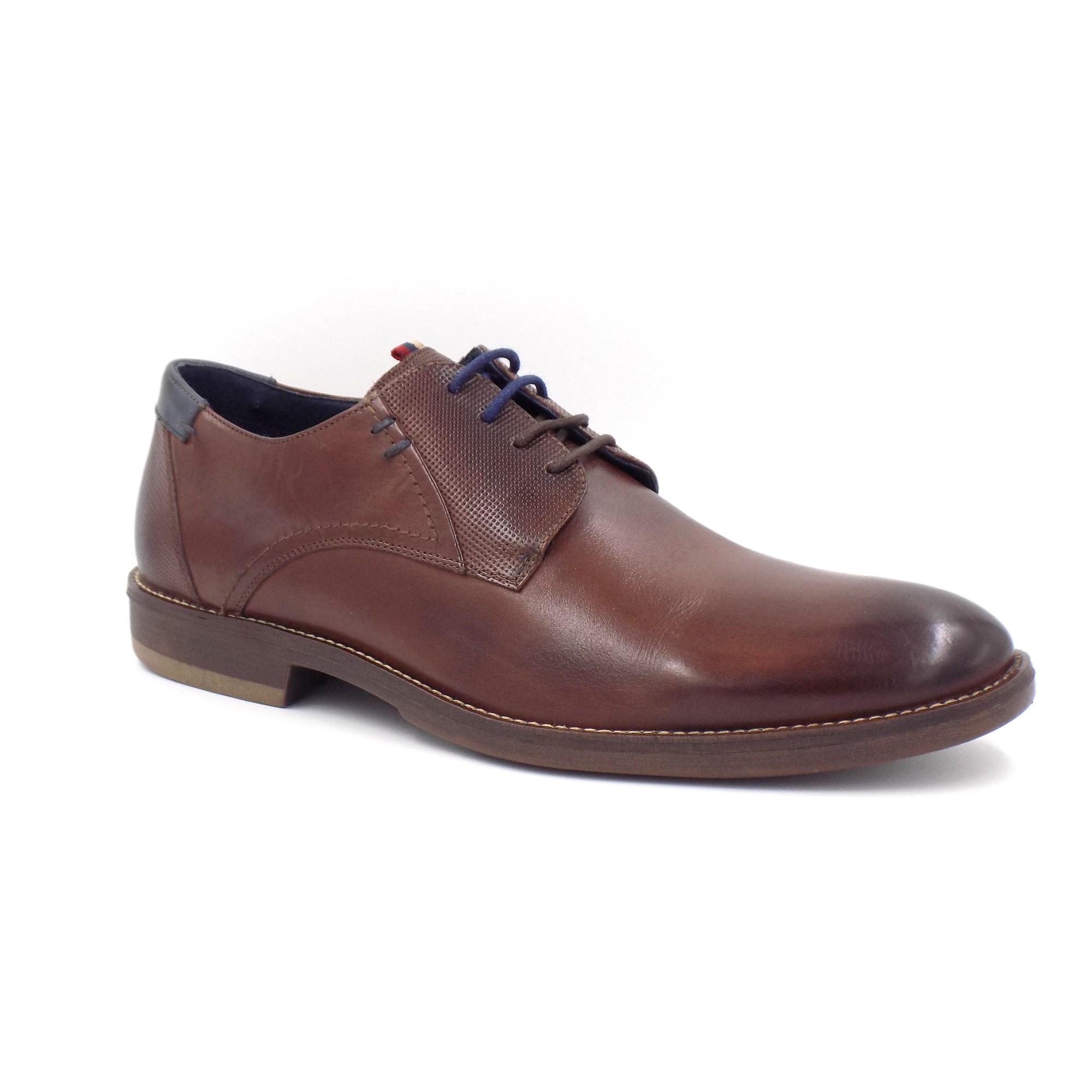 Sapato Casual Couro Amarrar