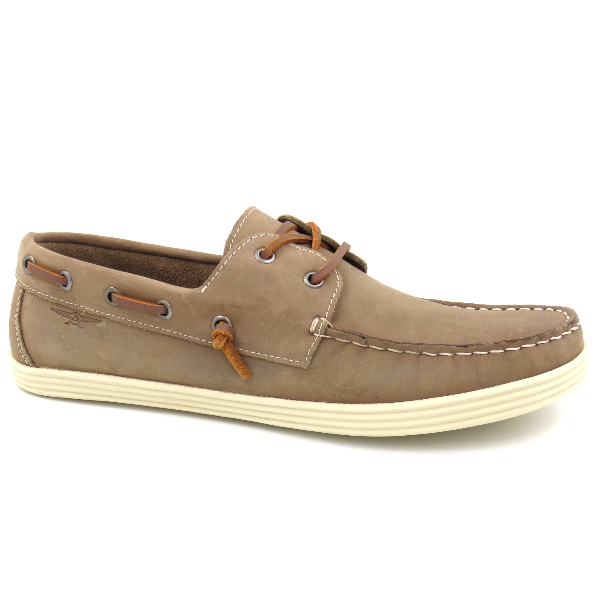 Sapato Casual Sider Couro