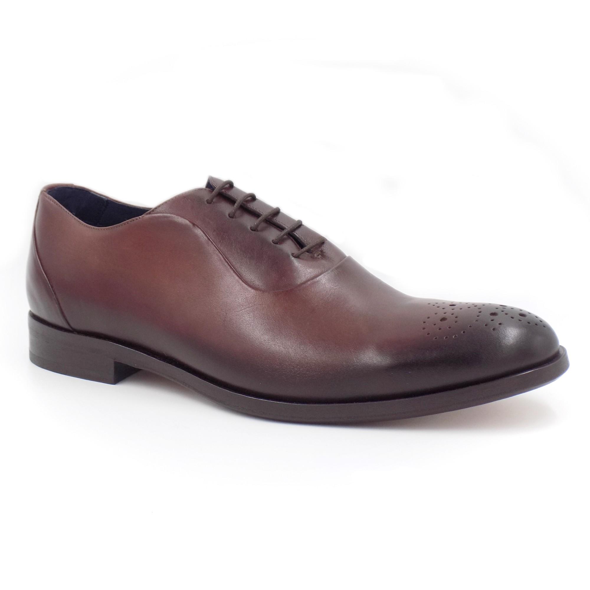 Sapato Social Oxford Sola Couro