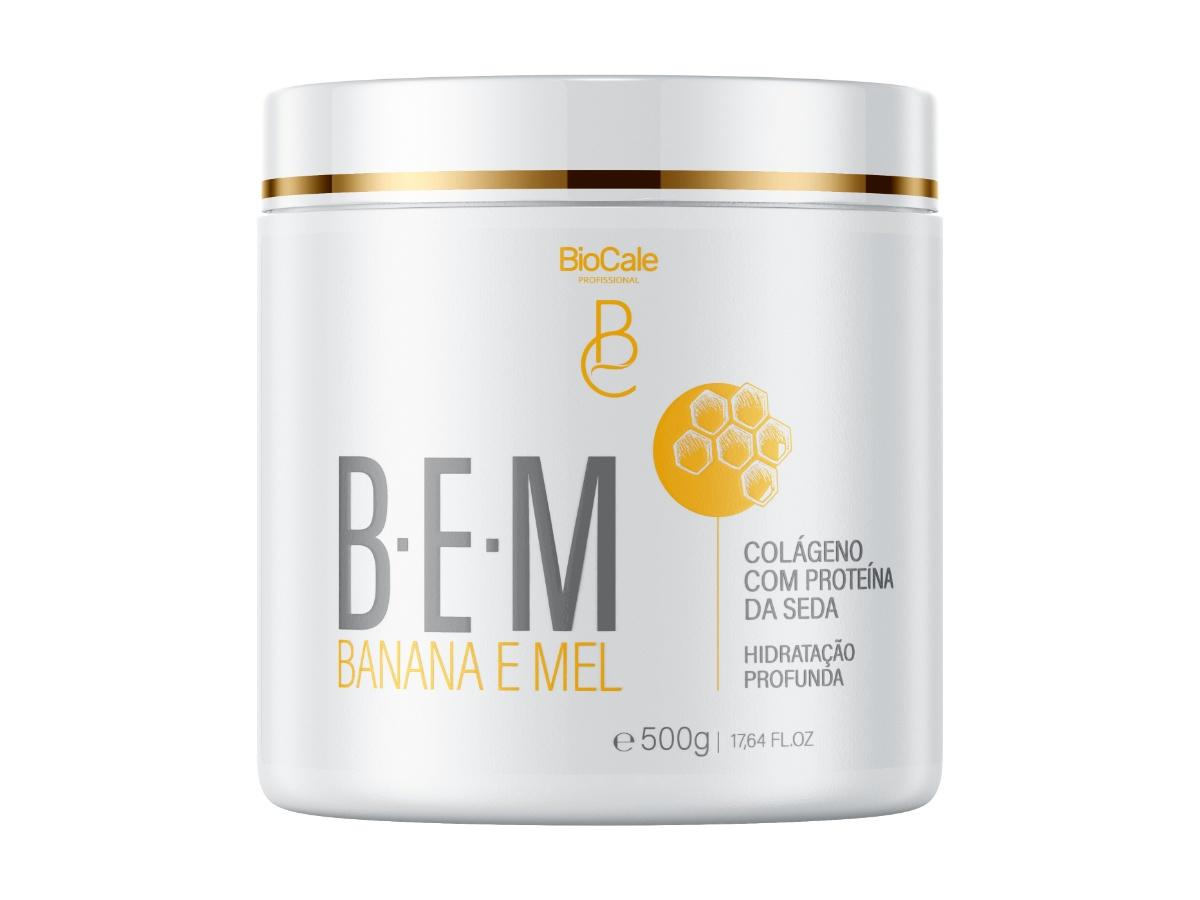 Biocale - Hidratação Profunda Banana E Mel 500g