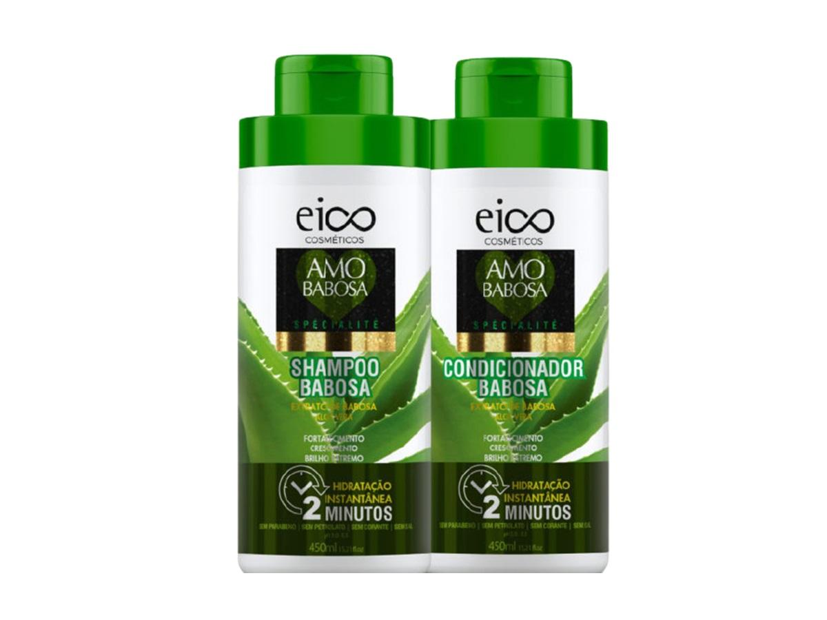Eico Amo Babosa Kit Shampoo + Condicionador 450ml