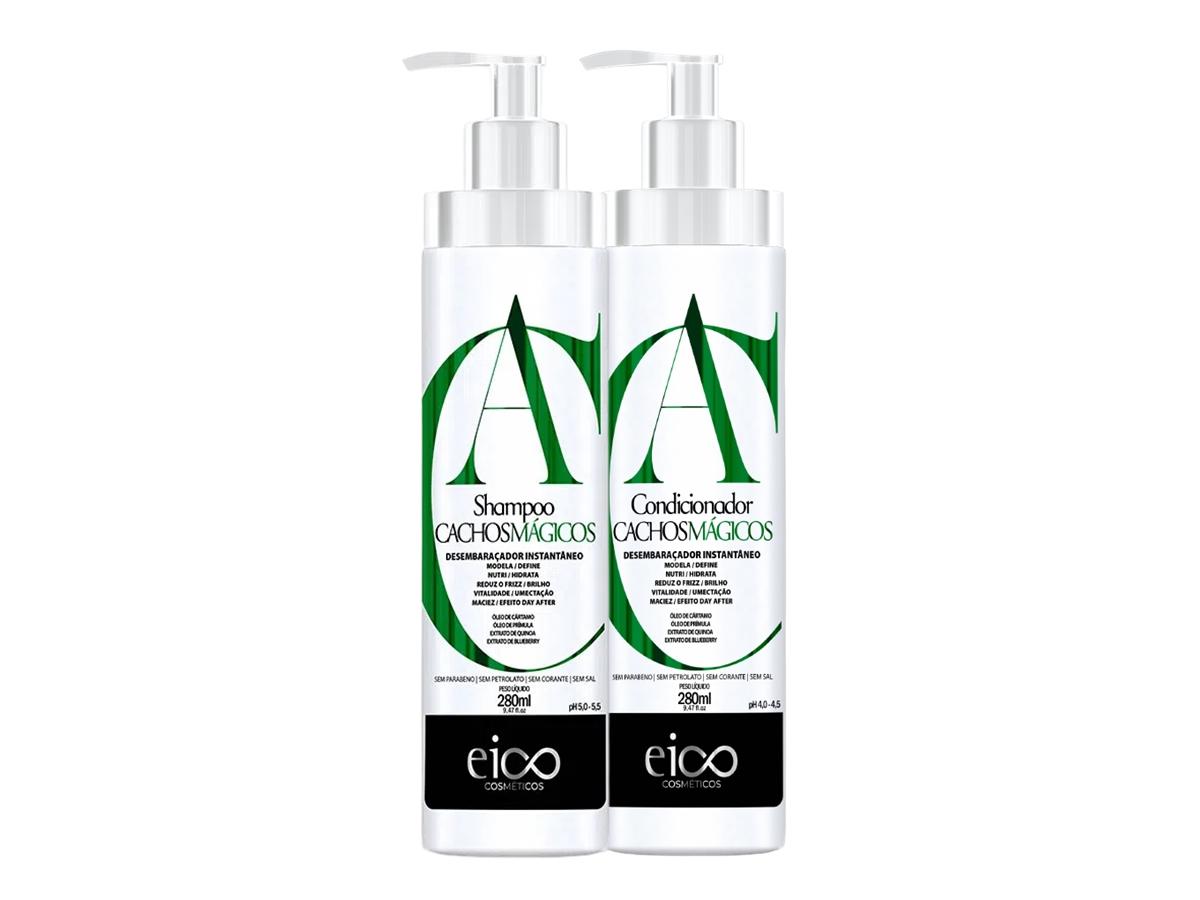 Eico Kit Cachos Mágicos Shampoo + Condicionador