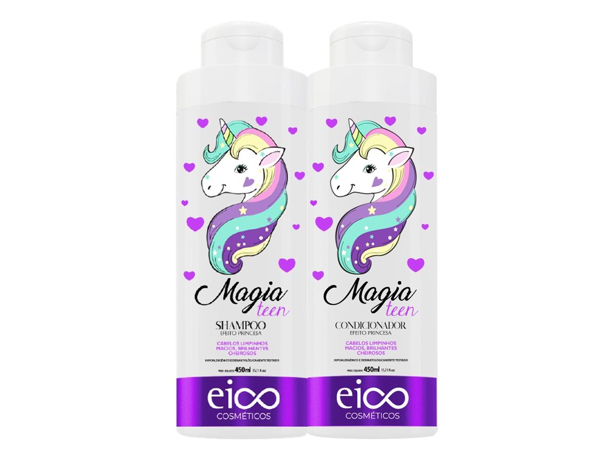 Eico Kit Infantil Magia Shampoo + Condicionador 450ml