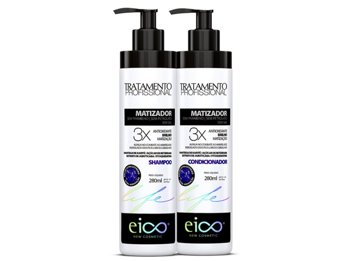 Eico Kit Matizador Shampoo + Condicionador 280ml