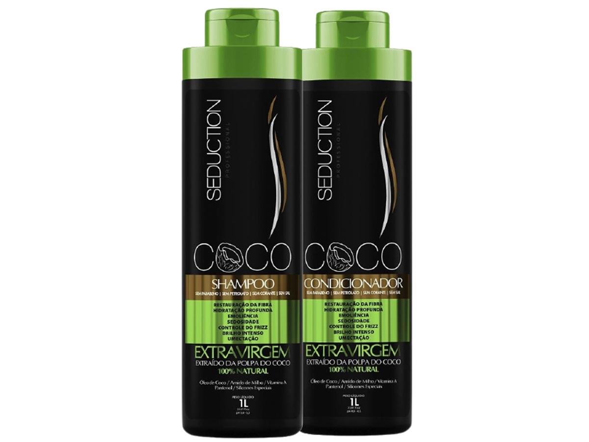 Eico Kit Óleo de Coco Shampoo + Condicionador 800ml
