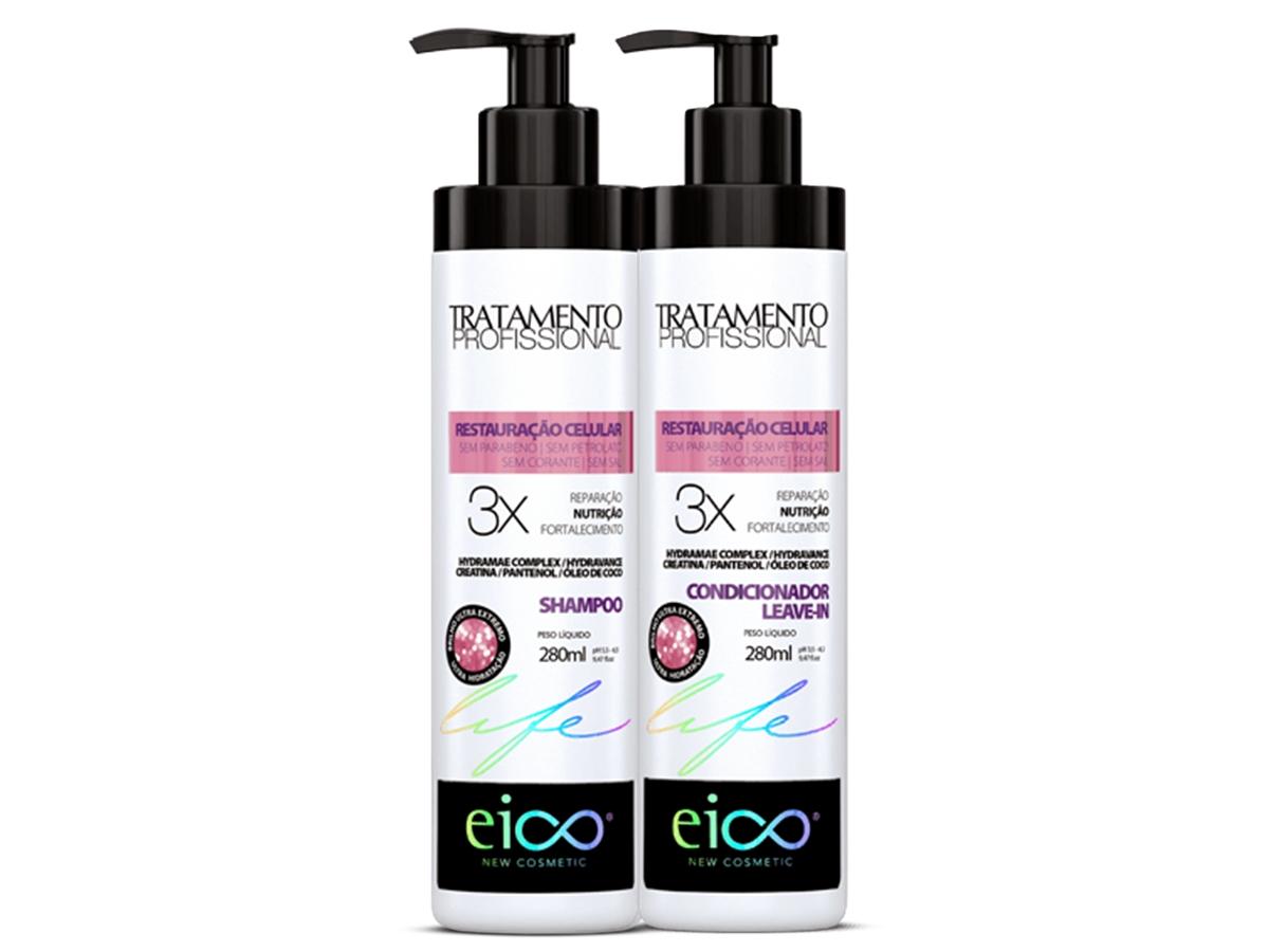 Eico kit Restauração Celular Shampoo + Condicionador