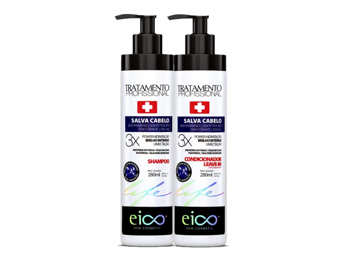 Eico Kit Salva Cabelo Shampoo + Condicionador