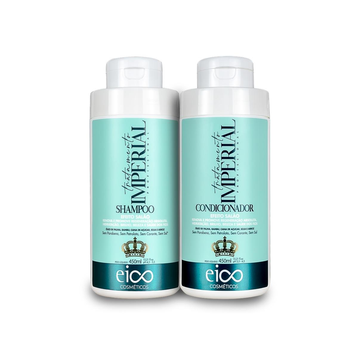 Eico Kit Tratamento Imperial Shampoo + Condicionador 450ml
