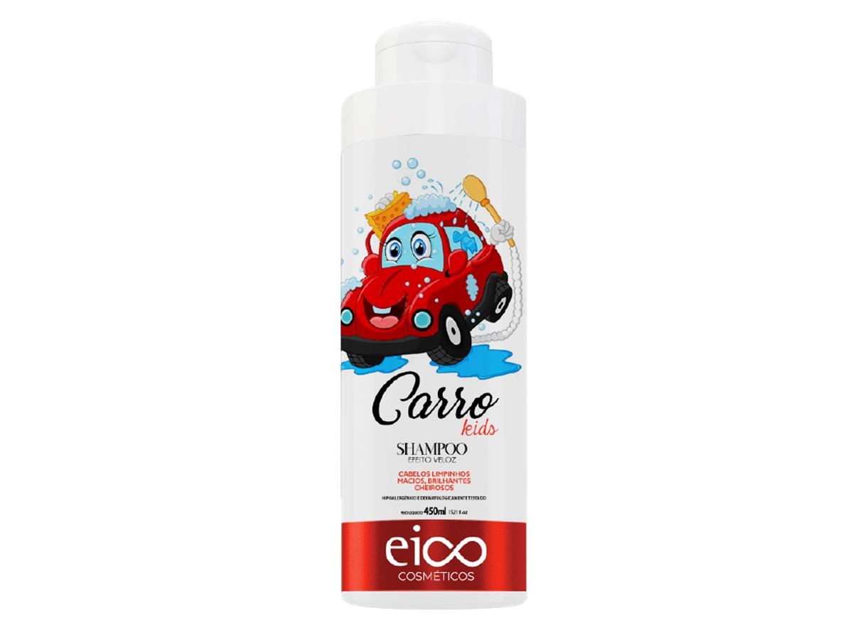 Eico Shampoo Infantil Carro 450ml