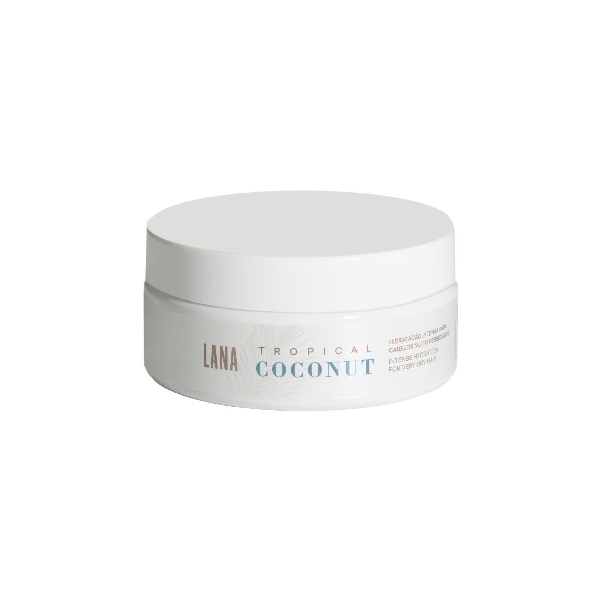 Lana Brasiles - Máscara Tropical Coconut Hidratação Intensa 200g